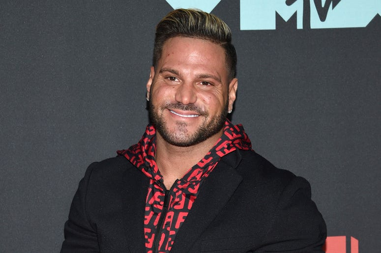 """This Aug. 26, 2019 file photo shows """"Jersey Shore"""" cast member Ronnie Ortiz-Magro at the MTV Video Music Awards in Newark, N.J. (Photo by Evan Agostini/Invision/AP, File)"""