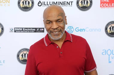 In this Aug. 2, 2019, file photo, Mike Tyson attends a celebrity golf tournament in Dana Point, California. (Photo by Willy Sanjuan/Invision/AP, File)