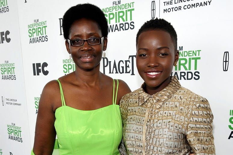 This March 1, 2014, file photo shows Dorothy Nyong'o, left, with her daughter actress Lupita Nyong'o, at the 2014 Film Independent Spirit Awards in Santa Monica, Calif. (Photo by Jordan Strauss/Invision/AP, File)