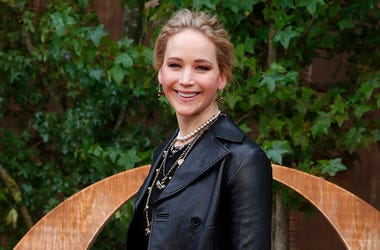 In this Sept. 24, 2019 file photo, actress Jennifer Lawrence smiles during a photocall before Dior's Ready To Wear Spring-Summer 2020 collection, unveiled during the fashion week, in Paris. (AP Photo/Francois Mori, File)