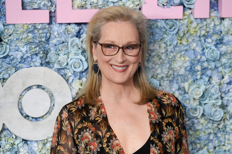 "This May 29, 2019 file photo shows actress Meryl Streep at the premiere of HBO's ""Big Little Lies"" season two in New York. (Photo by Evan Agostini/Invision/AP, File)"