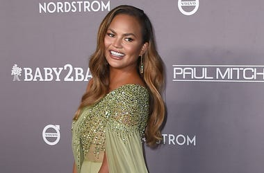 Chrissy Teigen arrives at the 2019 Baby2Baby Gala on Saturday, Nov. 9, 2019, in Culver City, Calif. (Photo by Jordan Strauss/Invision/AP)