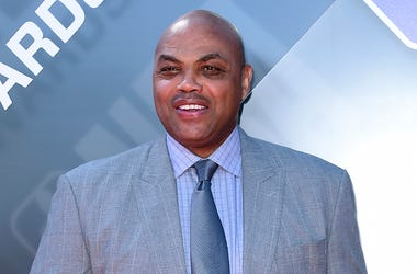 In this June 25, 2018, file photo Charles Barkley arrives for the NBA Awards at the Barker Hangar in Santa Monica, California. (Photo by Richard Shotwell/Invision/AP, File)