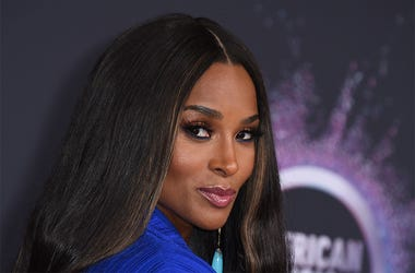 In this Nov. 24, 2019, file photo, Ciara arrives at the American Music Awards at the Microsoft Theater in Los Angeles. (Photo by Jordan Strauss/Invision/AP, File)