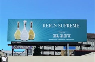 El Rey Billboard at Central Skyway E/O Mission (Photo credit: AP)