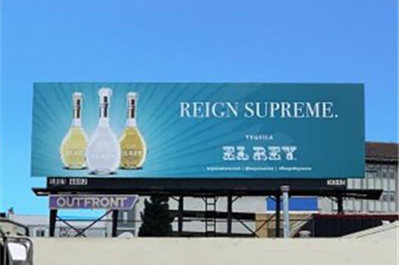 El Rey Billboard at Central Skyway E/O Mission (Photo credit: AP)
