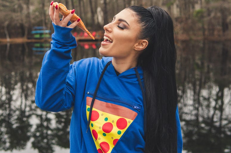 Alexis and the Pizza Pocket (Photo credit: ScrapTown USA)