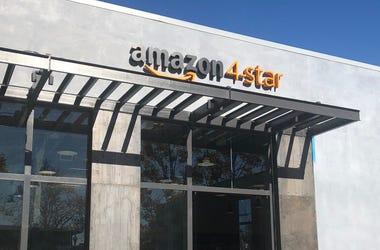 Amazon's 4-Star Store in Berkeley (Photo credit: KCBS Radio/CarrieHodousek)