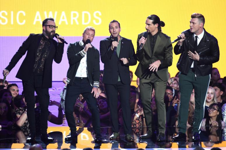 Backstreet Boys (Photo credit: Sipa USA)