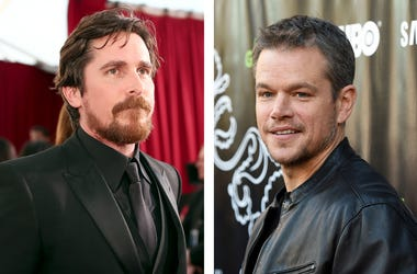 Christian Bale and Matt Damon (Photo credit: Christopher Polk/Angela Weiss/Getty Images)