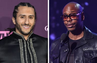 Colin Kaepernick and Dave Chappelle (Photo credit: Frank Micelotta/PictureGroup/Admedia, Inc/Sipa USA)