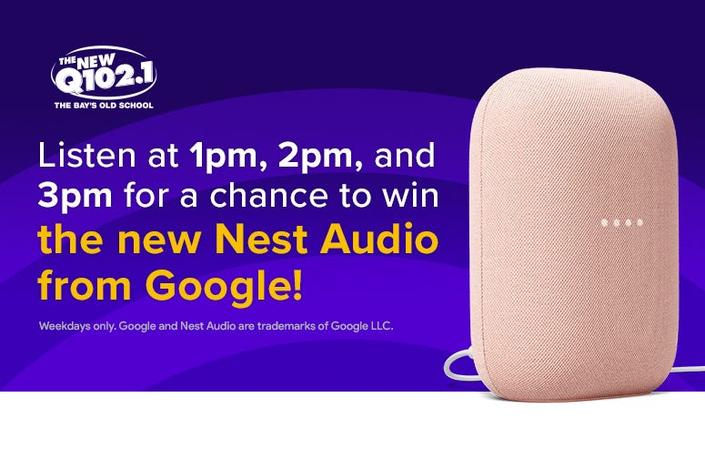 Win a Nest Audio from Google