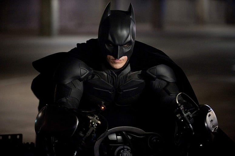 "Christian Bale as 'Batman' in ""The Dark Knight Rises"" (Photo credit: Warner Bros. Pictures)"