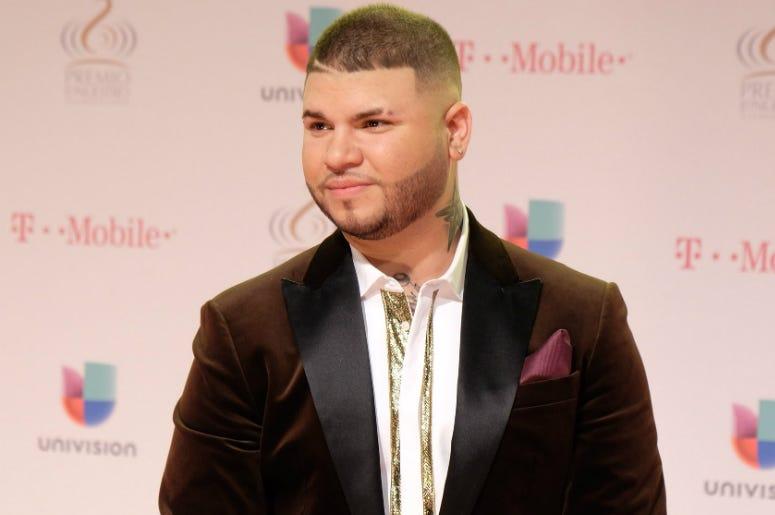 Puerto Rican singer Farruko attends to Univision's 28th Edition of Premio Lo Nuestro A La Musica Latina at the American Airlines Arena in Miami, US, 18 February 2016.