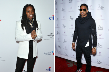 Jacquees attends the Universal Music Group 2018 Grammy After Party at Spring Studios in New York, NY on January 28, 2018 / Trey Songz Delivers First-Ever Performance of New Mixtape To Whom It May Concern with Full Band at Drai's Nightclub at The Cromwell