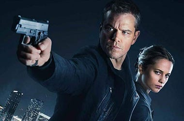 Matt Damon and Alicia Vikander in 2016's 'Jason Bourne' (Photo credit: Universal Pictures)
