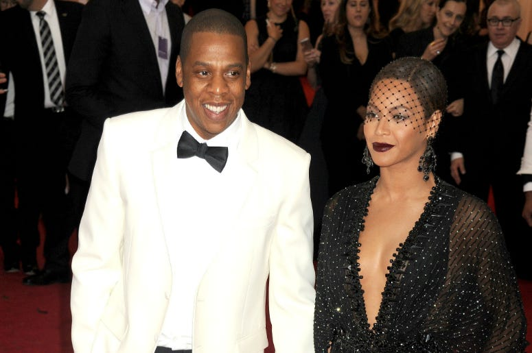 File photo dated 06/05/14 of Beyonce and Jay-Z