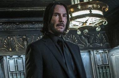 "Keanu Reeves as 'John Wick' in ""John Wick: Chapter 3 - Parabellum"" (Photo credit: Lionsgate)"