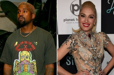 Kanye West and Gwen Stefani