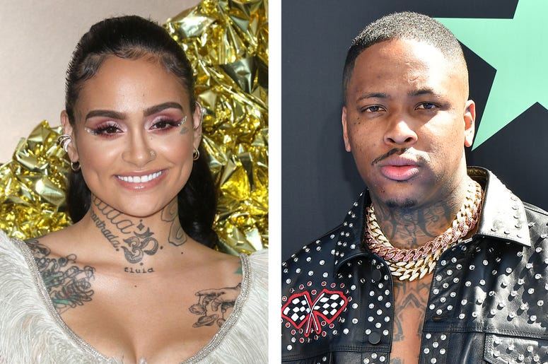 Kehlani and YG (Photo credit: Jim SpellmanParas Griffin/Getty Images)