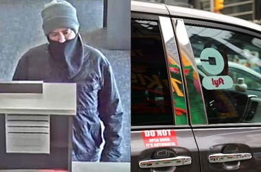 Bank Robbbery and Lyft Getaway Car