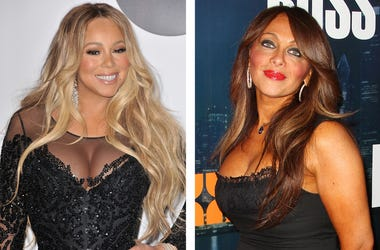 Mariah Carey and Stella Stolper (Photo credit: Michael Loccisano/Staff/Frederick M. Brown/Getty Images)