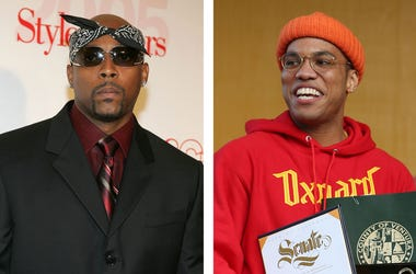 Nate Dogg and Anderson .Paak (Photo credit: Joe Lumaya/USA Today/Frazer Harrison/Getty Images)