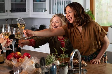Amy Poehler and Maya Rudolph in 'Wine Country'