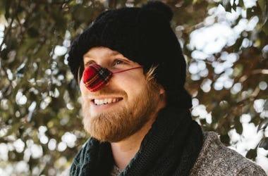 Knitted Nose Warmer (Photo credit: NoseWarmer.com)