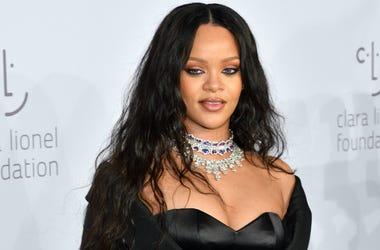 Rihanna attends Rihanna's 3rd Annual Diamond Ball at Cipriani Wall Street in New York, NY on September 14, 2017.
