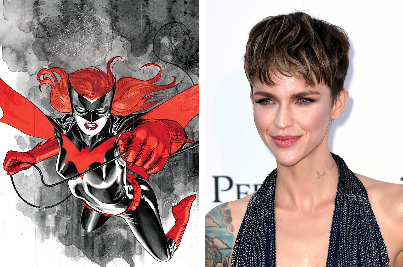 Batwoman Xxx ruby rose to star as the cw's new batwoman | the new q102.1