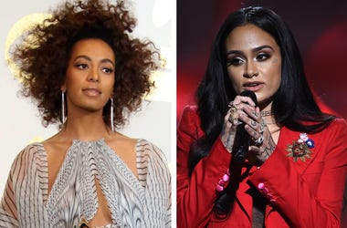 Solange Knowles and Kehlani (Photo credit: Dan MacMedan-USA Today Network/Frank Micelotta/PictureGroup)
