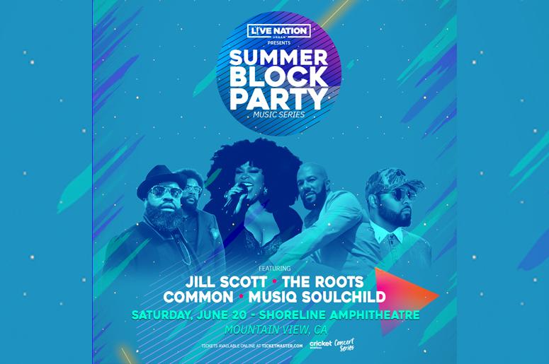 Summer. Block Party