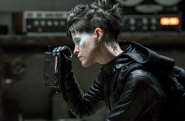 Claire Foy as Lisbeth Salander in 'The Girl in the Spider's Web' (Photo credit: Colombia Pictures/Sony Pictures)