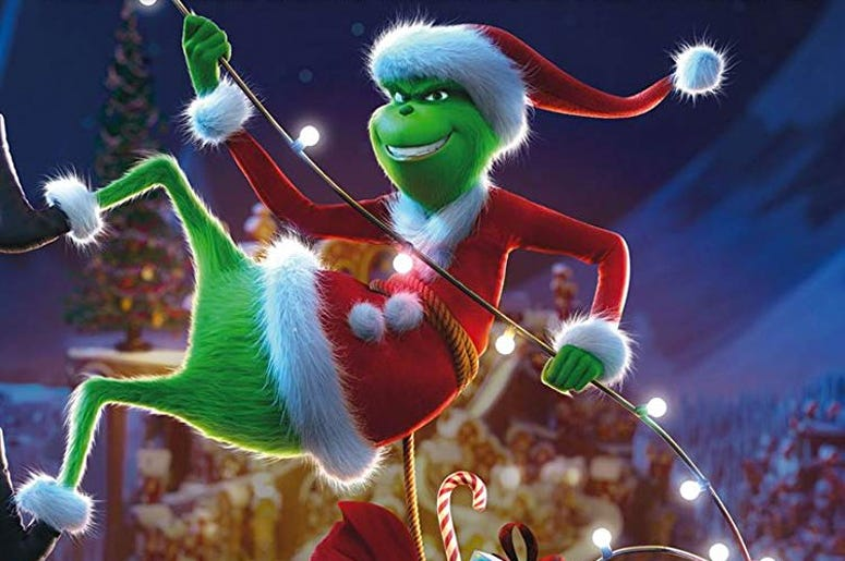 The Grinch (Photo credit: Universal Pictures)