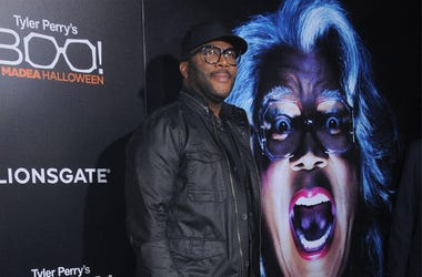 Tyler Perry (Photo credit: Birdie Thompson/AdMedia)
