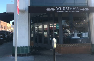 Wursthall   Restaurant & Bierhaus (Photo credit: Keith Menconi/ KCBS Radio)
