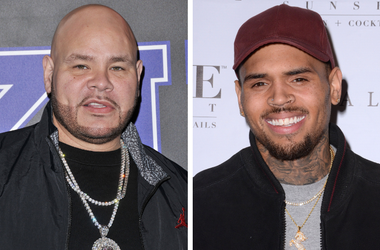 "Fat Joe arrives at the 2018 Rookie USA Fashion Show held at MILK in Los Angeles, CA on Thursday, February 15, 2018. / Chris Brown. Arrivals for the Chris Brown Listening Party For ""Royalty"" held at Hyde Sunset Kitchen + Cocktails."