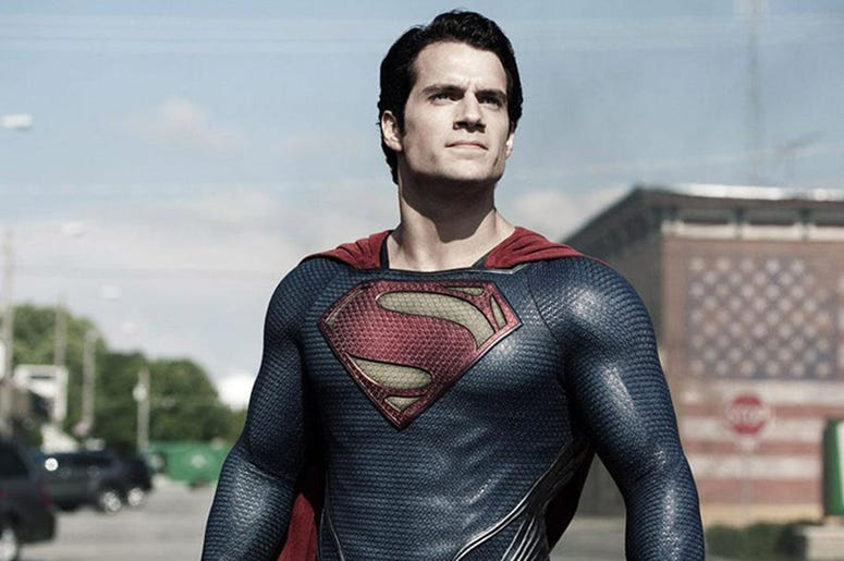 "Henry Cavill as Superman in ""Man of Steel"" (Photo credit: Warner Bros Pictures)"