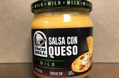 Taco Bell Salsa Con Queso Mild Cheese Dip