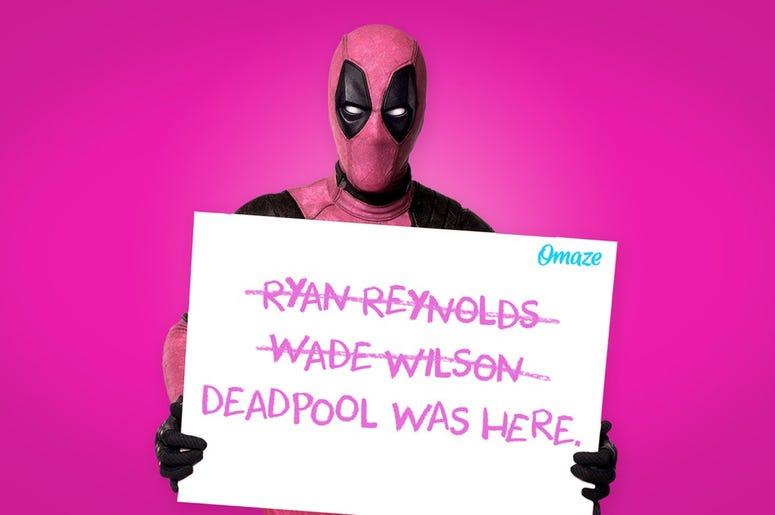 Pink Deadpool