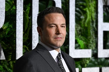 "Ben Affleck attends the ""Triple Frontier"" World Premiere at Jazz at Lincoln Center on March 03, 2019 in New York City. (Photo by Noam Galai/Getty Images)"