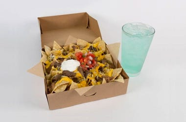 Taco Bell $5 Steak Nachos Box