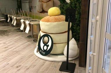 Gram Cafe & Pancakes at Stonestown Galleria (Photo credit: Melissa Culross/KCBS Radio)