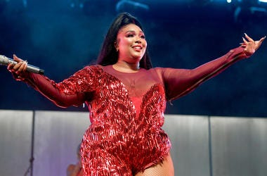 INDIO, CA - APRIL 21: Lizzo performs at Mojave Tent during the 2019 Coachella Valley Music And Arts Festival on April 21, 2019 in Indio, California. (Photo by Frazer Harrison/Getty Images for Coachella)