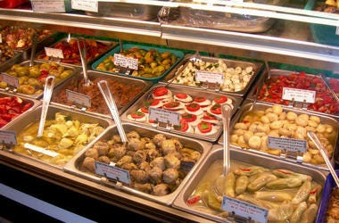 Italian Deli Case (Photo credit: Sherry Piatti/Dreamstime)