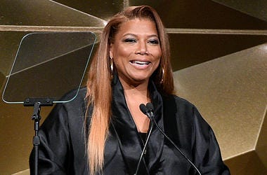NEW YORK, NEW YORK - JUNE 13: Queen Latifah speaks onstage during the Songwriters Hall Of Fame 50th Annual Induction And Awards Dinner at The New York Marriott Marquis on June 13, 2019 in New York City. (Photo by Theo Wargo/Getty Images for Songwriters Ha