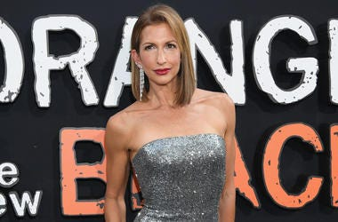 "NEW YORK, NEW YORK - JULY 25: Actress Alysia Reiner attends the ""Orange Is The New Black"" Final Season World Premiere at Alice Tully Hall, Lincoln Center on July 25, 2019 in New York City. (Photo by Dimitrios Kambouris/Getty Images)"
