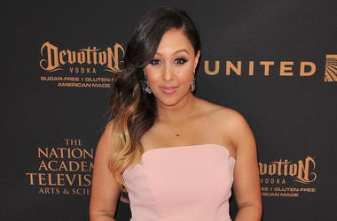 Tamera Mowry-Housley arrives at the 43rd Annual Daytime Emmy Awards held at the Westin Bonaventure Hotel and Suites in Los Angeles, CA on Sunday, May 1, 2016. (Photo By Sthanlee B. Mirador)