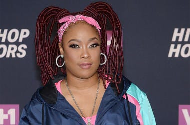 """Rapper Shawntae """"Da Brat"""" Harris attends the """"VH1 Hip Hop Honors: All Hail The Queens"""" at David Geffen Hall at Lincoln Center in New York, NY, on July 11, 2016. (Photo by Anthony Behar)"""